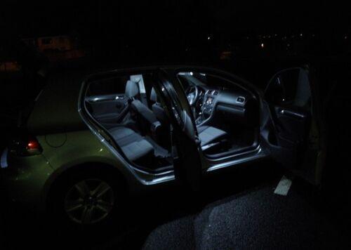 WHITE Interior License LED Package Combo Kit Lights For 2010 Toyota Highlander