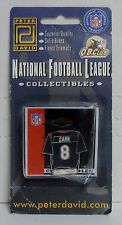 Official NFL, Houston Texans, David Carr Jersey Pin, Solid Brass & Enamels, NEW