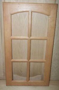 2 Mullion Frame Cabinet Doors Kitchen Paint Grade Maple 6 Panel 15 1