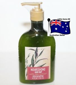 BATH-amp-BODY-WORKS-Iced-Eucalyptus-236ml-NOURISHING-HAND-SOAP