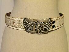 ceinture KAPORAL 5 cuir vieilli blanc taille XS