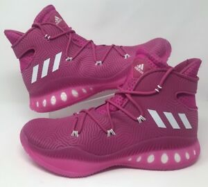 9b69fe857c9 adidas Crazy Explosive Boost High BCA Size 15  Pink White BY3278 NEW ...