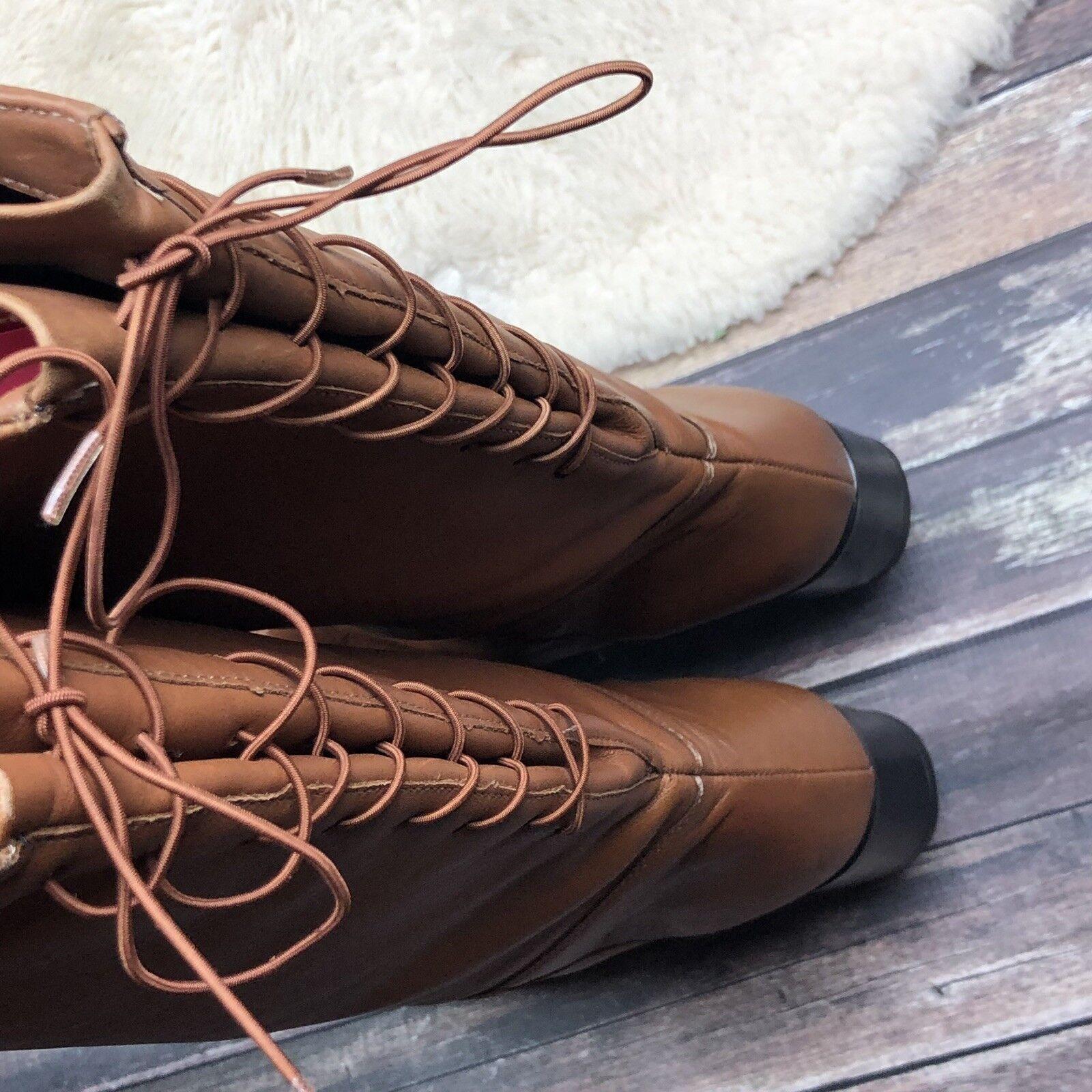 negozio di vendita outlet Donna  SZ 12 12 12 2E  Regence Marrone Leather stivali Wide Calf Knee High Waterproof EUC  classico senza tempo