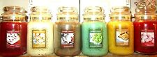 SET OF 6 Yankee Candle 22 oz Cookie Swap~PISTACHIO~ICED GINGERBREAD~SUGAR COOKIE