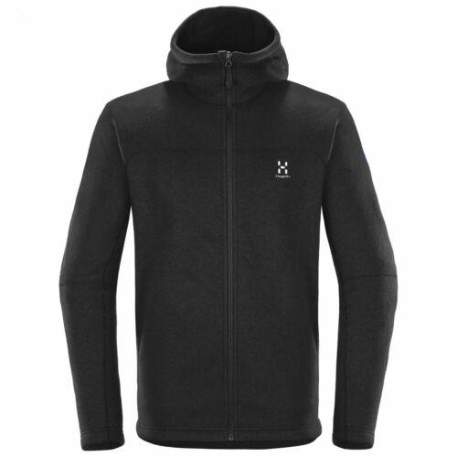 Black Haglofs Mens Swook Hood Jacket