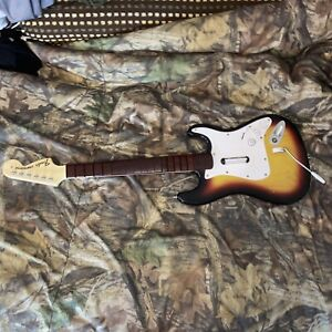 Guitar Hero Rockband Fender Stratocaster NWGTS2 Nintendo Wii NO DONGLE