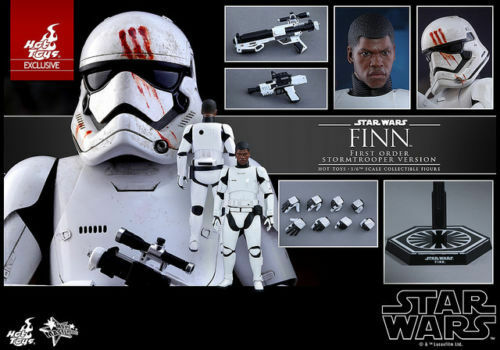 Hot Toys MMS367 16 Scale Star Wars Finn First Order Stormtrooper Exclusive