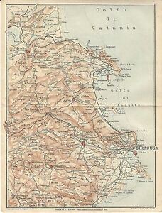 Carta geografica antica sicilia orientale siracusa tci 1919 old caricamento dellimmagine in corso carta geografica antica sicilia orientale siracusa tci 1919 altavistaventures Images