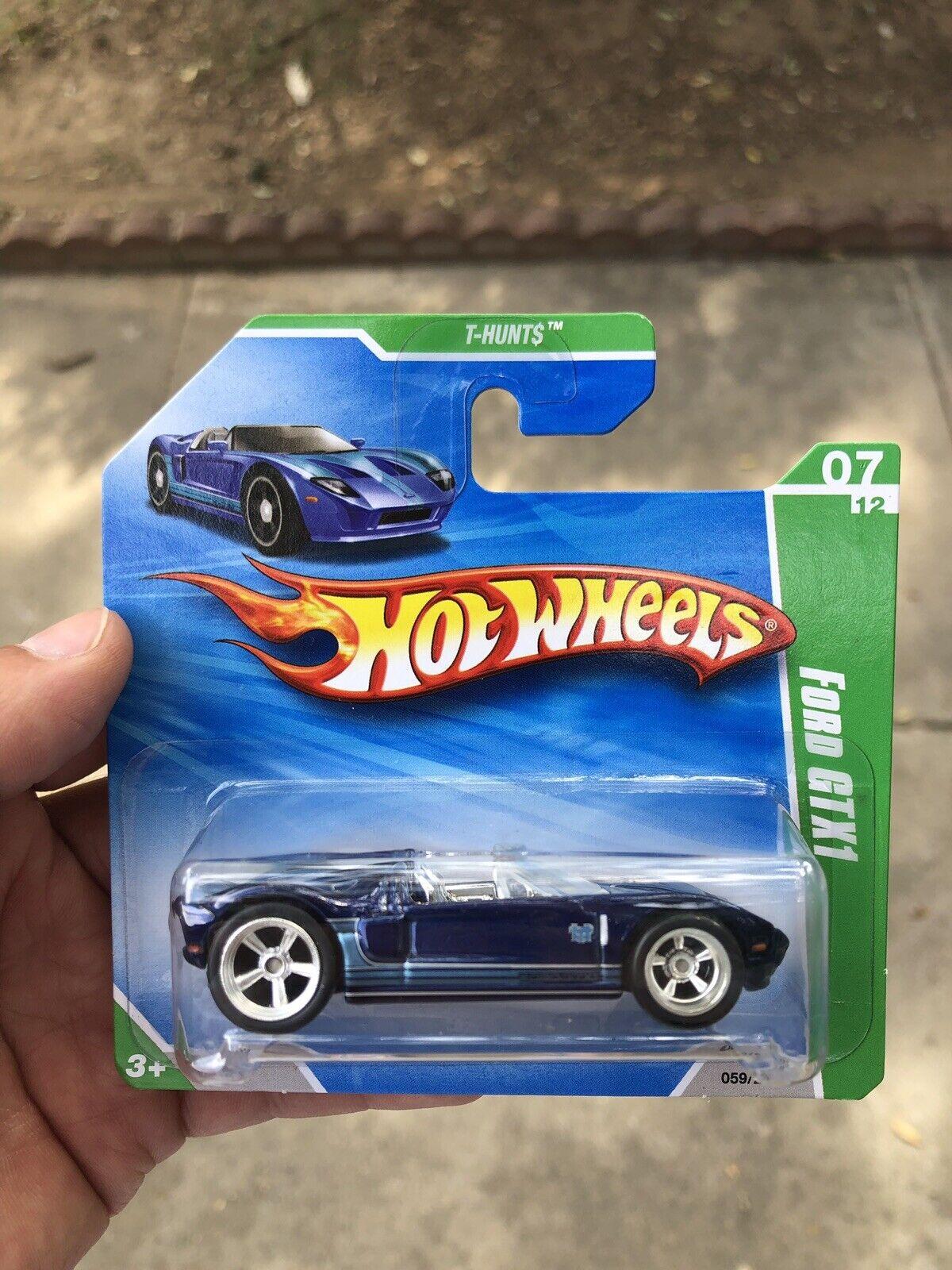 Hot Wheels Ford GTX1 Super Treasure Hunt Short Card