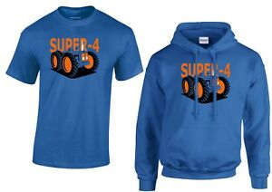 Fordson County Super 4 Vintage Tractor MENS T-Shirt/Hoodie