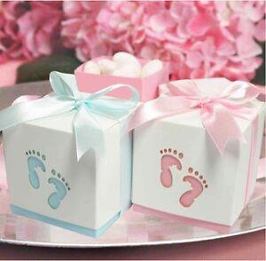 50 gastgeschenk hochzeit hochzeitsgeschenk geschenkbox rosa blau taufe ebay. Black Bedroom Furniture Sets. Home Design Ideas