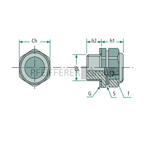 "Hydraulic accessories Breather r1//8/"" Bronze Filter"