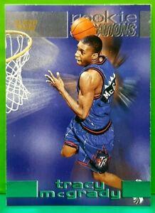 Tracy McGrady insert card Rookie Sensations 1997-98 Fleer #7