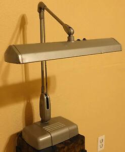 Vintage DAZOR Floating Fixture Work Light Industrial Desk ...