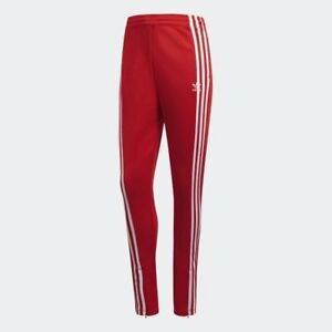 519231c9026 Women's Adidas Originals 3-Stripes Track Pants Red/White [z] DH2716 ...