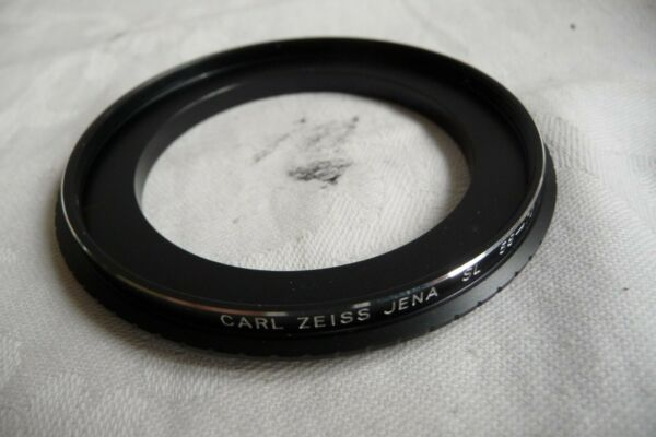 Ambitieux Step Up Anneau Pour Carl Zeiss Jena Sl 58-72 Mm... 16 Neuf New