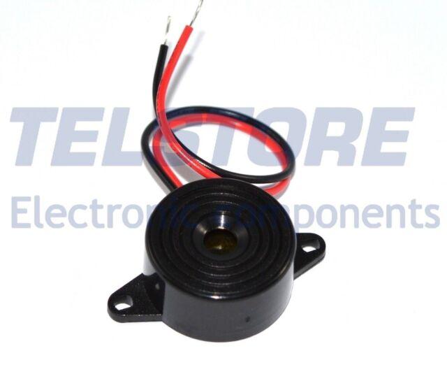 1 Cicalino Buzzer 5V 12V 1,5V - 24V DC oscillatore integrato Diametro 22,7mm