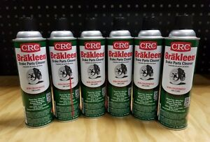 6-Pack-CRC-Brakleen-Brake-Parts-Cleaner-14oz-NonChlorinated-5088-FREE-SHIPPING