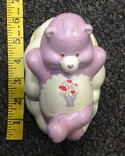 Share Bear One of the Carebears American Greetings Ceramic Piggy Bank Used VHTF