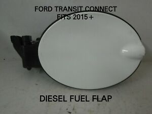 FORD-TRANSIT-CONNECT-DIESEL-FUEL-FLAP-FITS-2015-WHITE