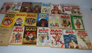Mad-Magazine-Paperback-Book-Lot-22-Alfred-E-Neuman-Don-Martin-Al-Jaffee
