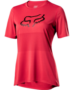 FOX  RACING WOMENS RIO RED RANGER SS FOXHEAD MTB JERSEY DH FR XC TRAIL SIZES S M  promotional items