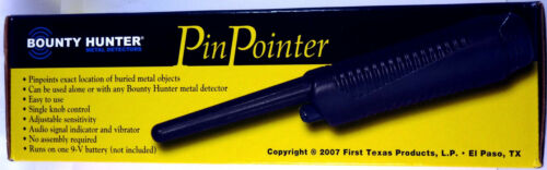 Bounty Hunter Pinpointer