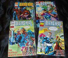 Vintage DEATH'S HEAD II Marvel 8 Comic Limited Series and Regular Series LOT