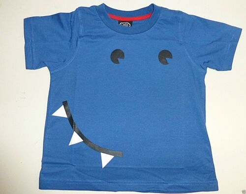 Age 4-5 years Boy/'s Roar Design Short Sleeve T-Shirt Blue NEW