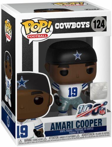 Funko POP Football Amari Cooper Dallas Cowboys Ltd Edition Vinyl Figure #124