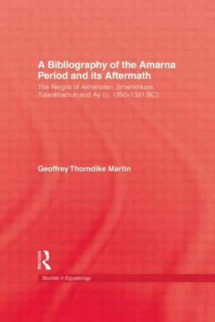 Bibliography Of The Amarna Perio