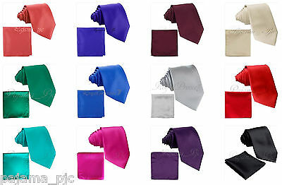 New men/'s polyester solid purple hankie pocket square formal wedding party prom