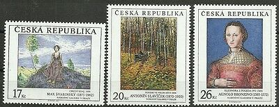 Minr 382/84 ** Unparteiisch GemÄlde/ Tschechische Rep Motive