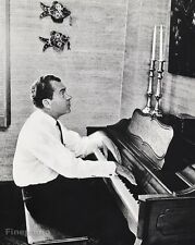 1967 Vintage 16x20 RICHARD NIXON U.S. President Piano Music By PHILIPPE HALSMAN