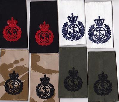 British  ROYAL NAVY CHIEF PETTY OFFICER RANK SLIDES - BLUES