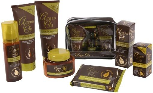 Argan Oil Hair / Face Treatment With Moroccan Argan Oil Extract - All Products!