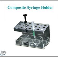 Premium Dental Composite Organizer Amp Etch Syringe Holder Holds 21 Syringes