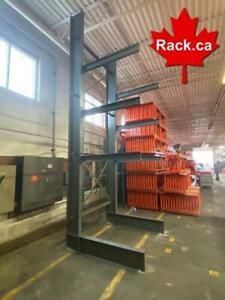 Largest Stock Of Cantilever Racking In Canada - We Ship All Over Canada - Our Service Can Not Be Duplicated Ontario Preview