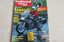 164714) Kawasaki 1000 GTR im Fahrbericht - Motorrad Reisen Sport 02/1986
