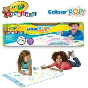 Crayola My First Crayola Colour Pop Colour Magic And Erase Mat Ebay