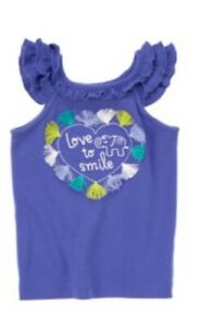 Gymboree-Safari-Smiles-2T-3T-5T-Tassel-Elephant-Tank-Top-Blue-Love-to-Smile-14