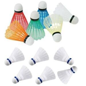 6 Pcs Plastic Shuttlecocks Badminton Balls Leisure Sport & games Device