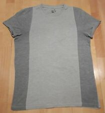 ASOS GREY CUT AND SEW ROLLED SLEEVE FITTED TSHIRT SIZE MEDIUM RRP £18 FREE P&P