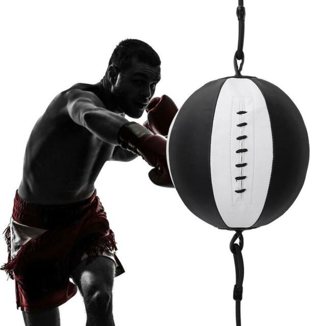 Double End Speed Ball Floor to Ceiling Dodge Punch Bag MMA Boxing Set