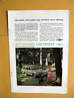 Vintage Magazine Print Ad 1962 Chevrolet Bel Air 4-Door Station Wagon