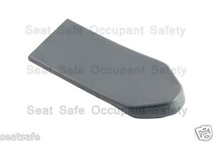 Seat-Belt-Top-Anchor-Cover-Ford-Holden-Universal-fit-48mm-Pair-GREY