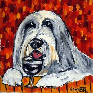 bearded-collie-at-the-wine-bar-gift-animal-ceramic-dog-art-tile-coaster