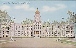 Details about Wyoming State Capitol Building in Cheyenne, Wyoming - Early  1900's View