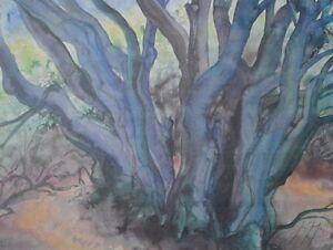 Guenter-Grass-Waldlandschaft-III-Originalgrafik-handsigniert-nummeriert-56-5x75-5