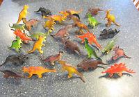 40 Large Assorted Toy Dinosaurs 6 Dinosaur Figures Dino Animal Kids Playset